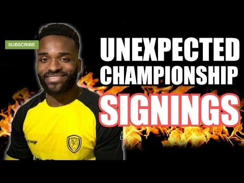Most UNEXPECTED Championship Signings THIS January