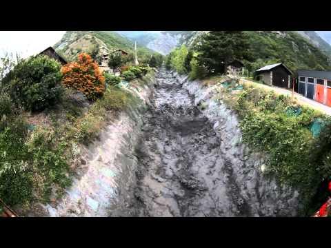 debris flow - 22 août 2011 - Crue torrentielle à Saint Julien Montdenis