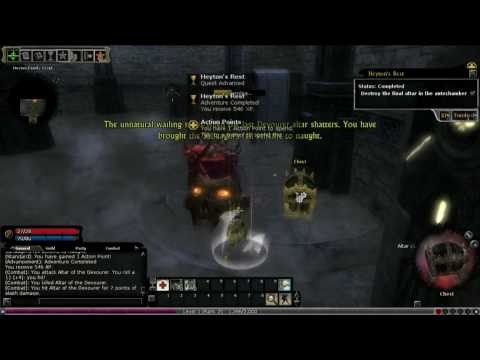DDO:Bard Gameplay