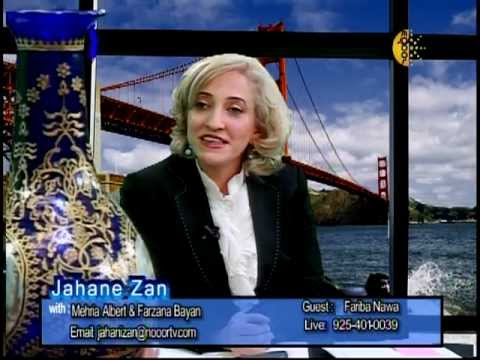 Fariba Nawa Jahan-e Zan Interview Nooor March 2013 on Afghan Women Art Part 2