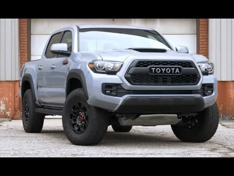 2018 Toyota Tacoma Trd Pro Review And Release Date Youtube