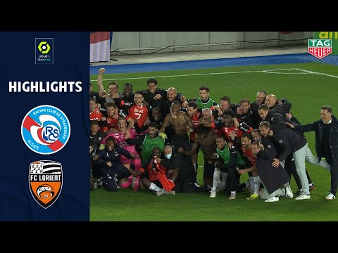 Strasbourg Lorient Goals And Highlights
