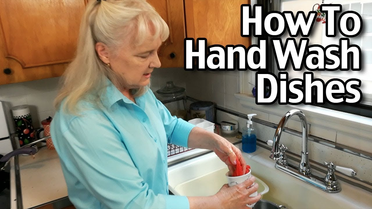 How To Wash Dishes By Hand Wash Dishes Efficiently Using Less
