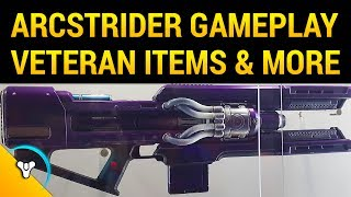 Destiny 2: Arcstrider in PvP, Cold Heart Exotic, Veteran Rewards
