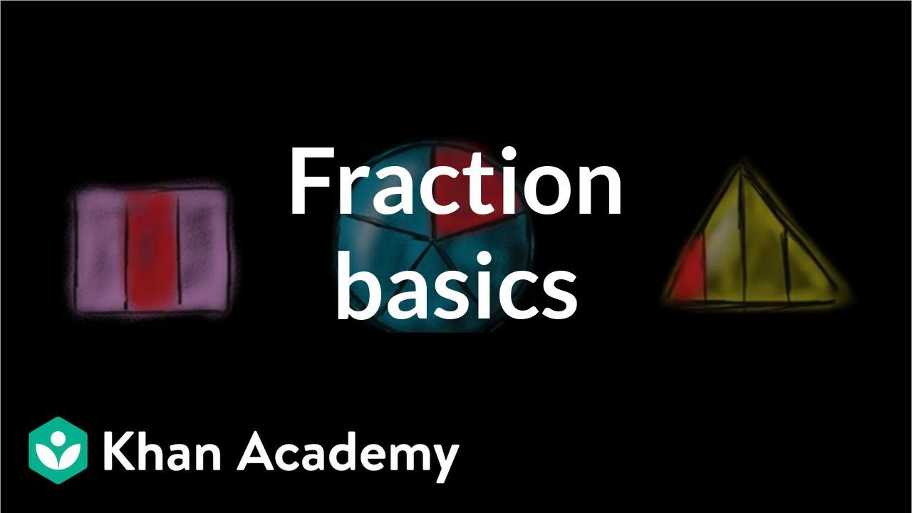 medium resolution of Intro to fractions (video)   Fractions intro   Khan Academy