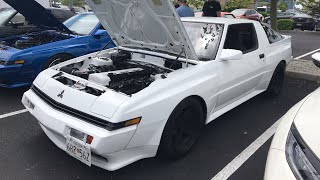 1000hp 2JZ Swapped Mitsubishi Starion!