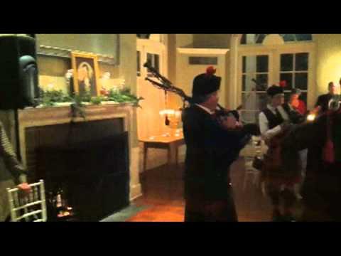 Music at Burns Night in Garrison, New York (2012)