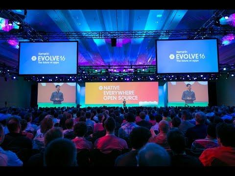 Xamarin Evolve 2016: Keynote