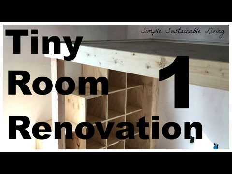 Tiny Room Renovation - Phase 1 - Demolition and Prep