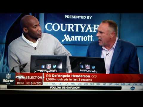 2017 NFL Draft Denver Broncos RD 6 pick 203 De