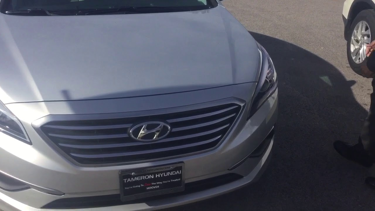 Mr. Roberts 2016 Sonata @ Tameron Hyundai in Hoover - YouTube