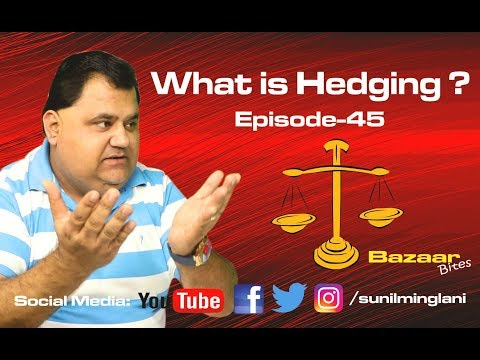 What is Hedging ?||  Stock Market Hindi Video || Episode-45 || Sunil Minglani