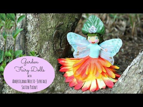 Make Flower Fairies for the Garden