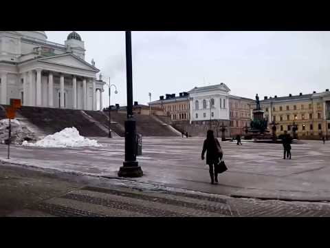 HELSINKI TOUR IN CITY CENTER JANUARY 2017