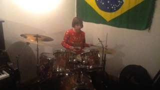 Alana Gratty On The Drums (Jazz Attack) - 10/12/16