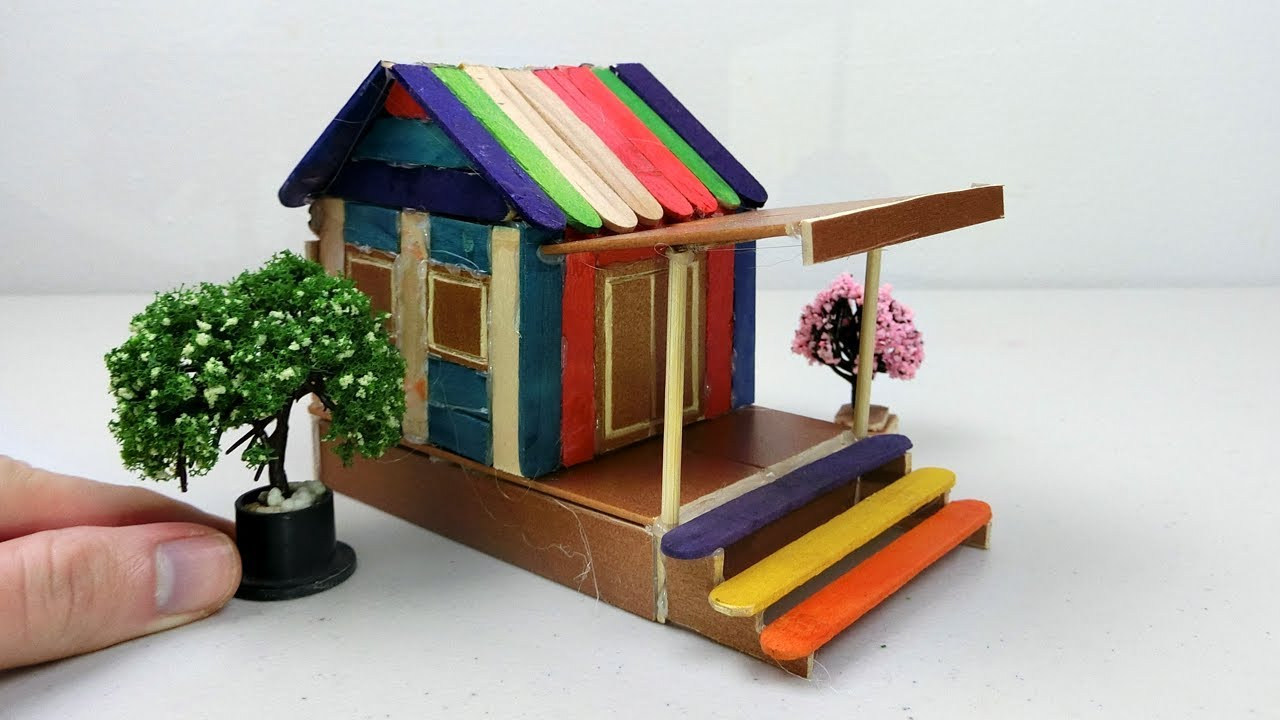Awesome How To Make Popsicle Stick House #20 | Easy DIY Project