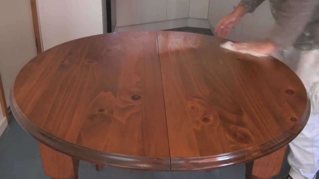 How To Apply Scandinavian Oil Or Teak Oil To Wood Or Timber Surfaces    YouTube