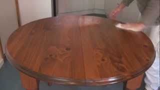 How To Apply Scandinavian Oil Or Teak Oil To Wood Or Timber Surfaces