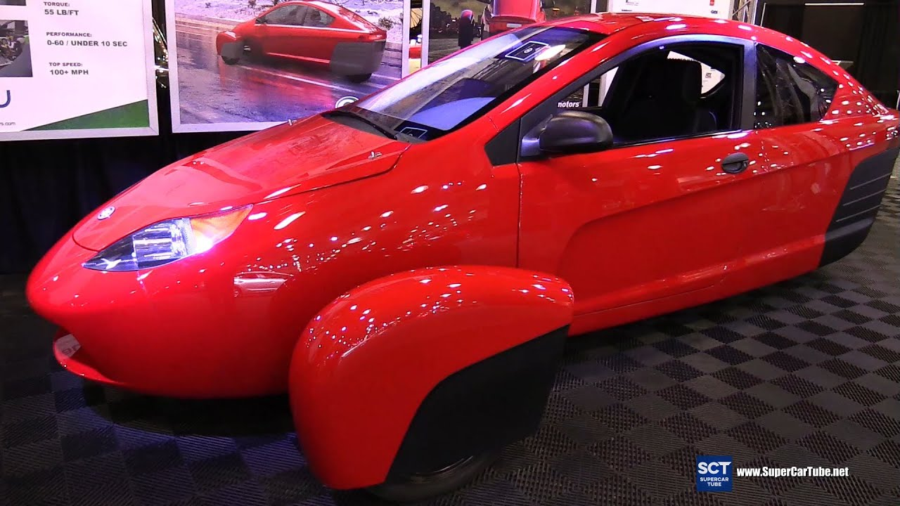 2016 Elio Motors Eplus Exterior And Interior Walkaround