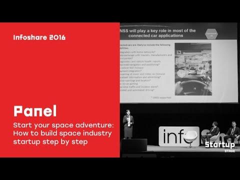 K. Kanawka & T. Tanghe & Ł. Wilczyński - Start your space adventure / infoShare 2016