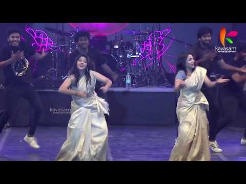 Jimikki Kammal Exclusive HD Video By Sheril And Anna In Chennai || Kavasam TV