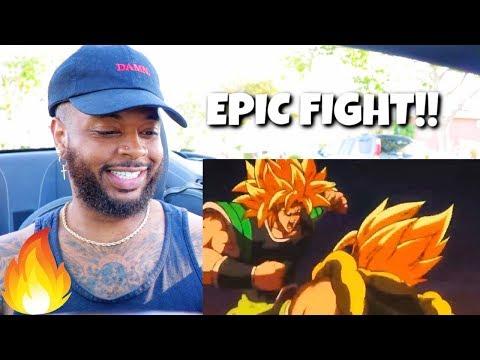 Dragon Ball Super Gogeta Vs Broly Full Fight   Reaction
