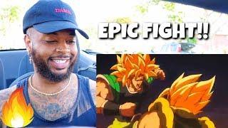 Dragon Ball Super Gogeta Vs Broly Full Fight | Reaction