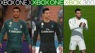 FIFA 18 | Xbox One X VS Xbox One VS Xbox 360 | Graphics Comparison
