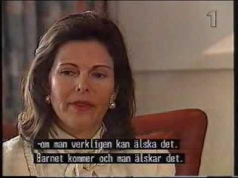 SVT: Drottning Silvia intervjuad i Mosaik (1995)