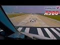 Airbus A380 Pilotsview - Long Takeoff Roll