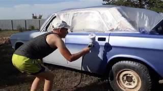 видео Покраска авто в два цвета и варианты двухцветных автомобилей