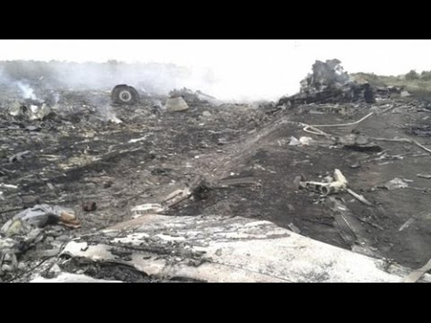 Malaysian Airlines Boeing 777 shot down over Ukraine MH17