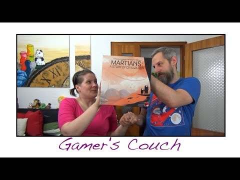 Gamer's Couch # 150 - Martians: A Story Of Civilization