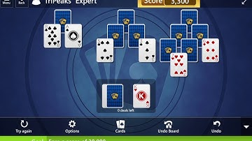 Microsoft Solitaire Collection: TriPeaks - Expert - June 18, 2020