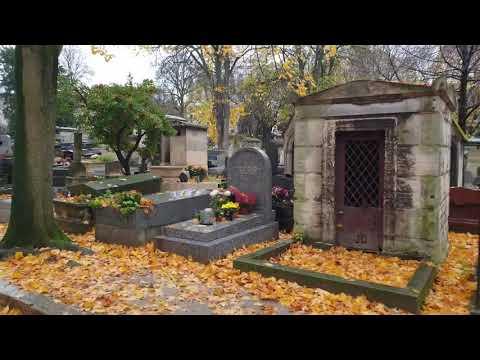 Кладбище Монмартр Cimetiere De Montmartre в Париже