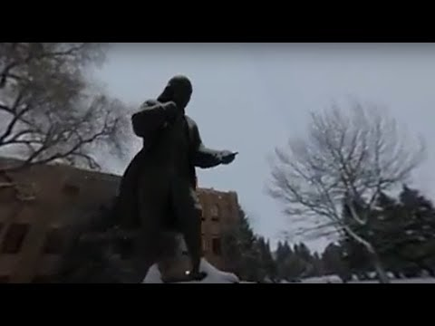 Christmastime on the University of Wyoming Campus 360 VR