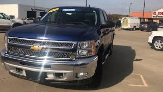 Certified Pre Owned 2013 Chevrolet Silverado 1500 Walkaround/Overview - #T64018A