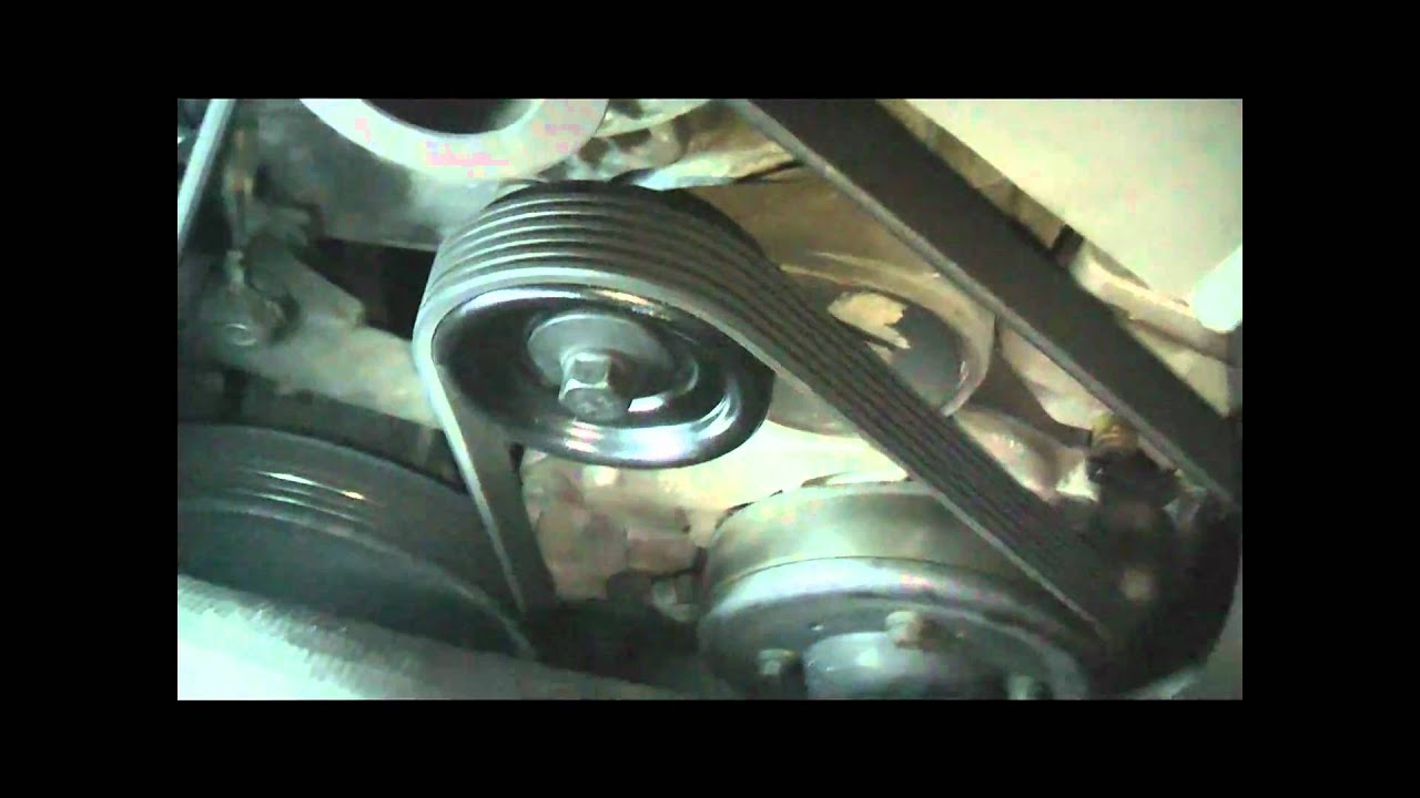 how to remove belt tensioners on ecotec engines