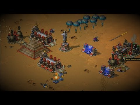 Epic Team Games in Tour of Egypt RTS Red Alert 2 Online Multiplayer