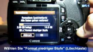 Magic Lantern auf einer Canon EOS installieren (schnell und einfach)
