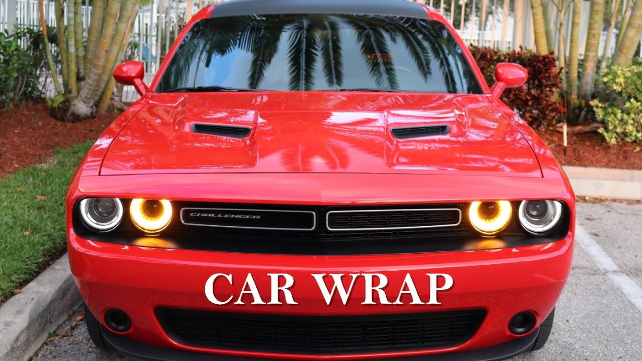 How To WRAP Your CAR Properly | Carbon Fiber ROOF WRAP | 2016 Dodge  Challenger | 3M Wrap