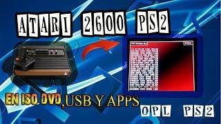 ATARI 2600 PS2 | FUNCIONA EN DVD, OPL Y COMO APLICACIÓN.
