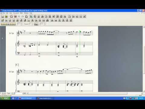 Tonari no Totoro (Piano and Trumpet duet) - Finale NotePad