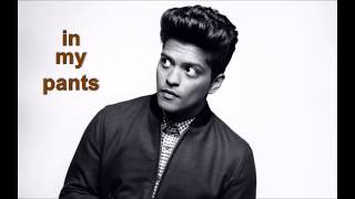 Finish the Lyrics [Bruno Mars]