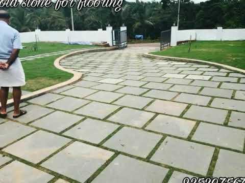 Nice Kota Stone Garden / Parking Flooring Stone Call Us 9252075678
