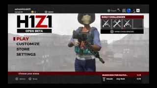 H1Z1  solo fun and funny moments