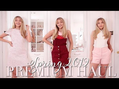 TED BAKER, REISS & KATE SPADE Spring 2019 Try On Haul 🌸 ~ Spring Fashion Edit ~ Freddy My Love