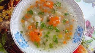 Суп с морской рыбы на обед(Soup from saltwater fish)