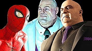 Amazing Spider Man 2 X360 vs Spider Man PS4 King Pin Boss Battles Graphics Comparisons