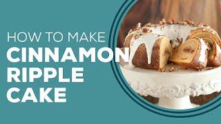 Blast From The Past: Cinnamon Ripple Sweet Potato Cake Recipe